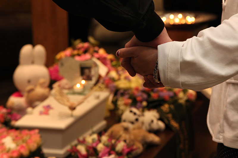 Begrafenis kind